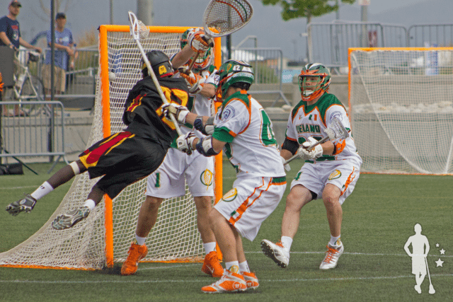 David Onen 1st Goal Uganda vs Ireland 2014 World Lacrosse Championship