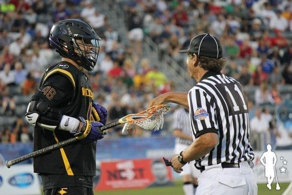 Iroquois v Canada 6.17 World Lacrosse Championship reffing
