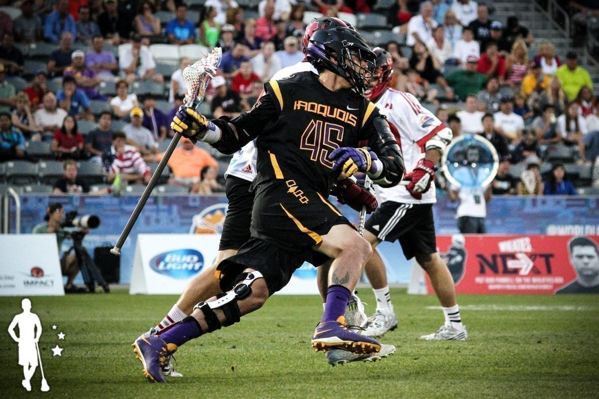 Iroquois v Canada 6.17 World Lacrosse Championship International Lacrosse