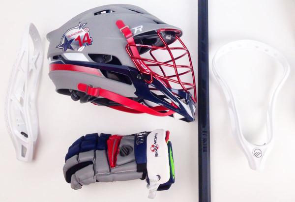 Maverik M3 gloves and Cascade R Helmet