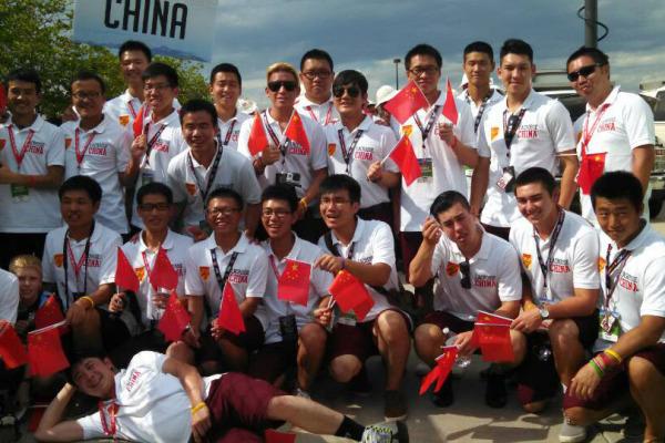 Team China 2014 World Championships