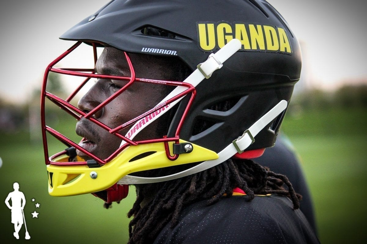 Belgium vs Uganda lacrosse - 2014 World Lacrosse Championships