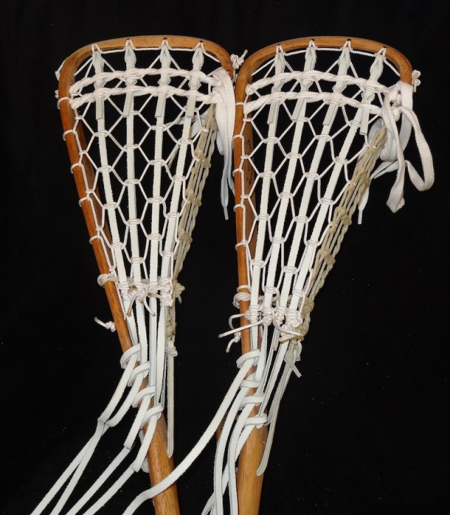 wooden lacrosse sticks