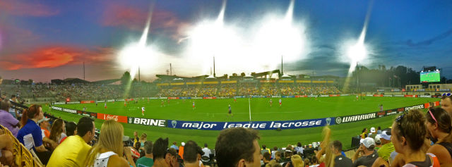 MLL 2014 Championship - Fifth Third Bank Stadium Panorama