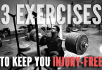 3 Exercises to help keep you injury-free