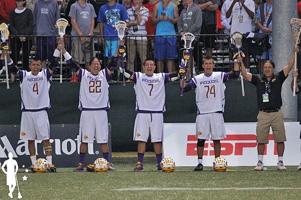 Iroquois Locker Room Nationals Lacrosse creators game The Creator's Game