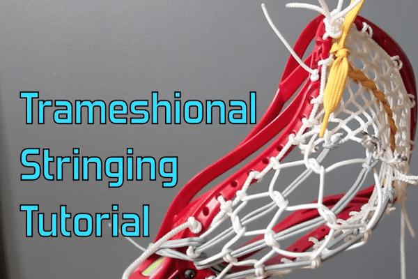 Trameshional Tradmesh Stringing Tutorial