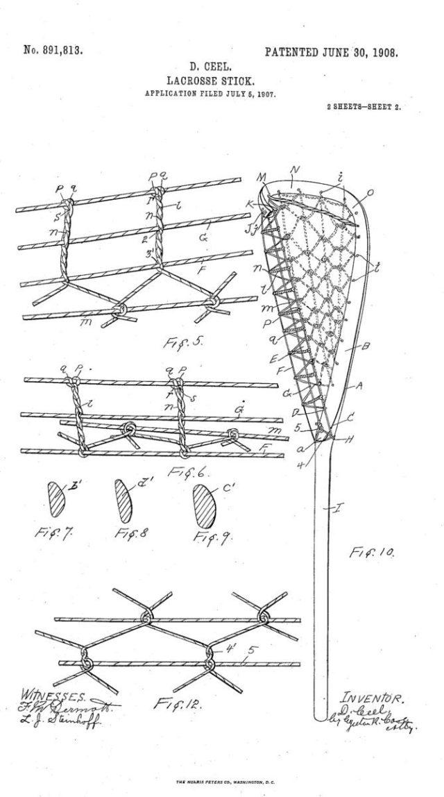 traditional thursday 1907 wooden lacrosse stick lacrosse all stars rh laxallstars com Lacrosse Stick Labeled Lacrosse Knots