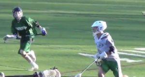 8th grader plays varsity lacrosse