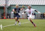 Seatown Classic US Men's National Lacrosse Team vs Notre Dame in Seattle, Washington 10.18.2015 College Lacrosse VS Pro Lacrosse