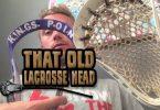 old brine shotgun lacrosse head