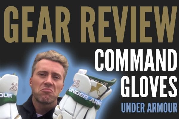 Gear Review: Command Glove from Under Armour
