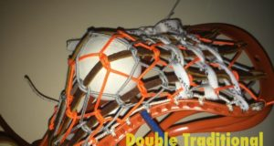 Double Traditional Tutorial Lacrosse Stringing