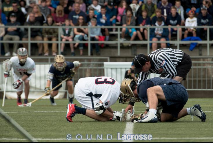 2014 Seatown Classic NCAA Lacrosse faceoff