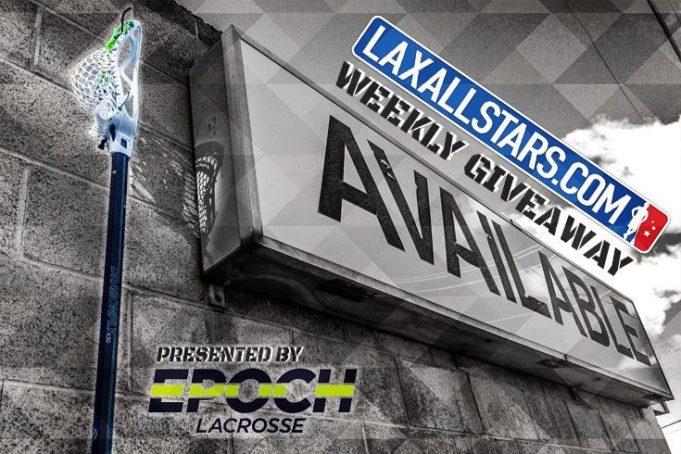 LAS Giveaway: Win an Epoch Lacrosse Stick