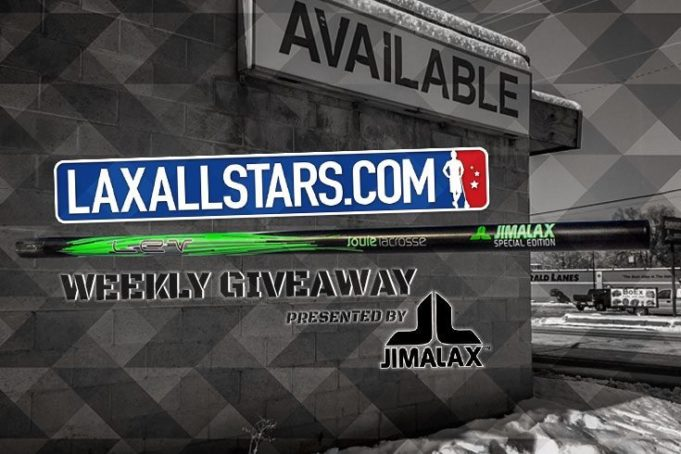 Win a Special Edition Jimalax Shaft - This Week Only