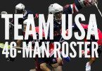 Team USA box lacrosse 46 man roster