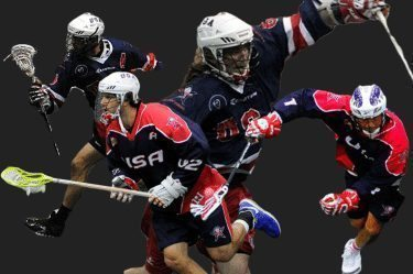 USA box lacrosse United States