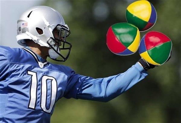 Jerseys NFL Sale - Spotted: Detroit Lions WR Juggles Lacrosse Balls - Lacrosse All Stars