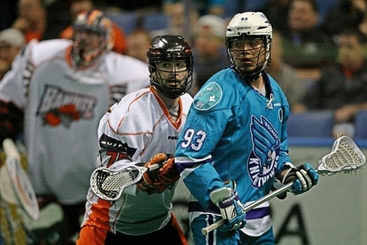 Photo Credit: Larry Palumbo Rochester Knighthawks Buffalo Bandits NLL lacrosse Johnny Powless