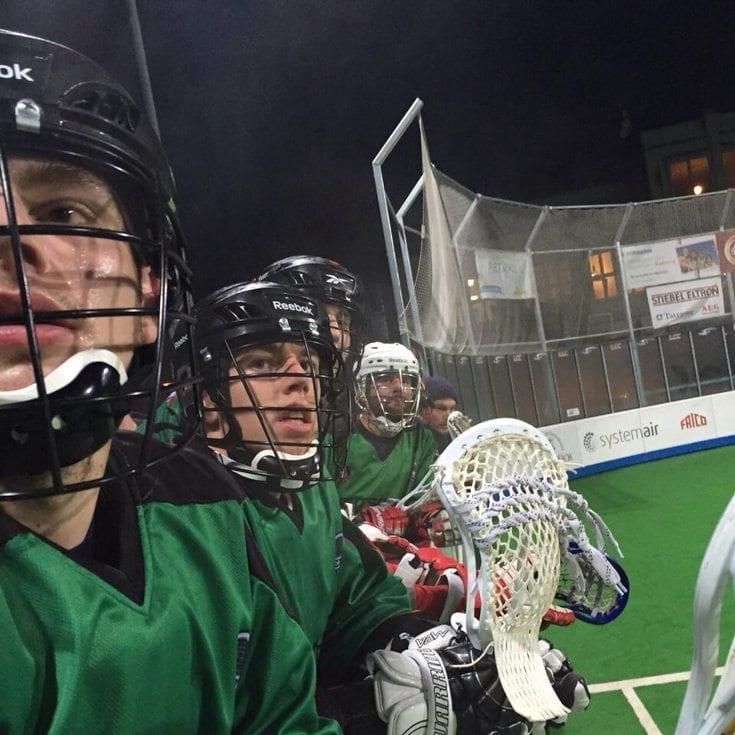 Deutschland Adler U19 box lacrosse WILC