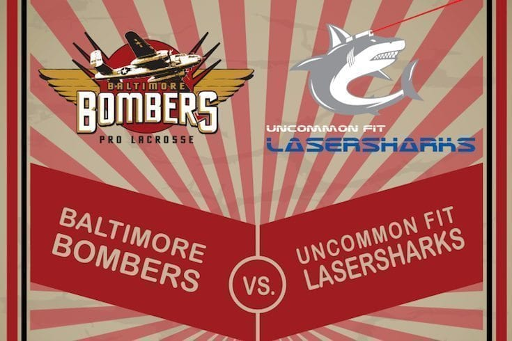 Bombers Vs LaserSharks