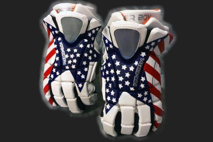 CruzWorldCustoms customized lacrosse gloves