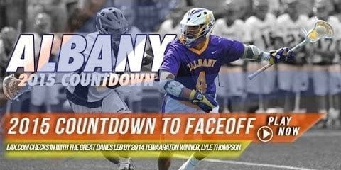 University of Albany men's lacrosse