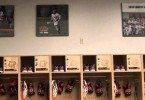 RIT men's lacrosse locker room
