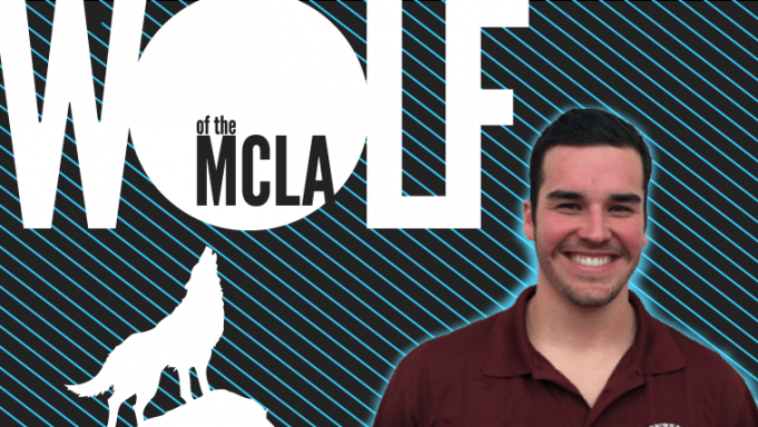 Andrew Wenzl Wolf of the MCLA