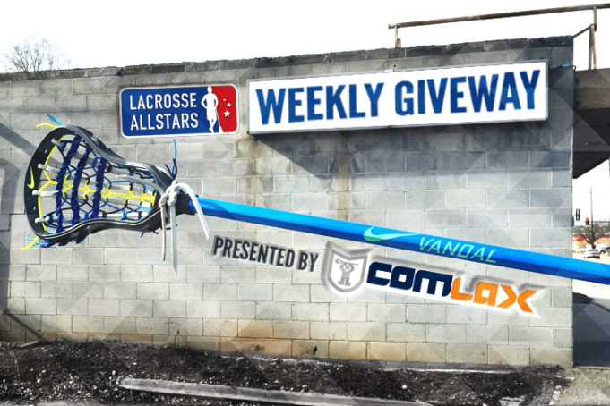 Win a Custom Nike Lacrosse Stick from ComLax!