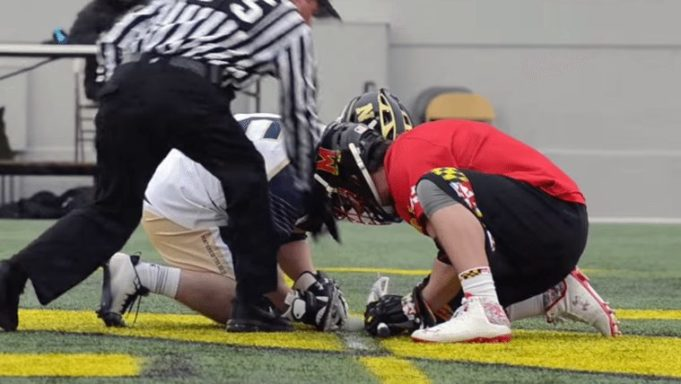 Maryland Lacrosse Terps vs Navy