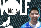 Trey Scott UCLA lacrosse Wolf of the MCLA