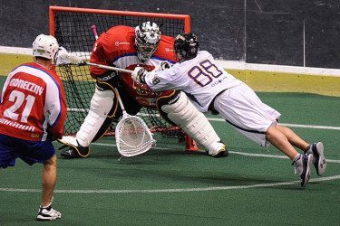 Cody Jamieson WILC 2011 Iroquois Nationals