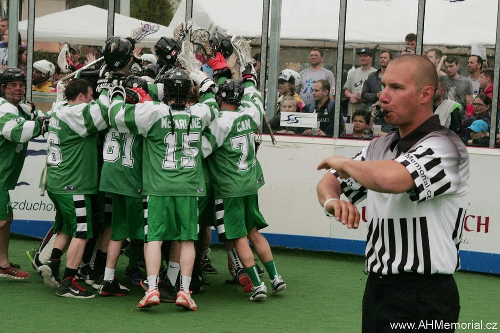 Green Gaels Ales Hrebesky Memorial 2015 box lacrosse tournament