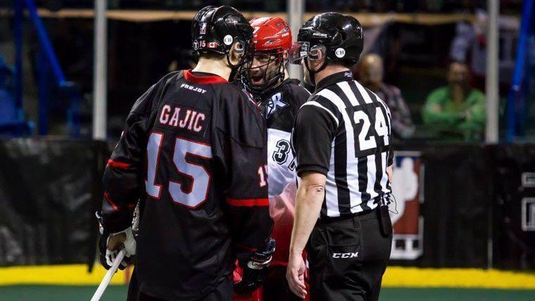 Ilija Gajic Vancouver Stealth NLL photo credit - Garrett James