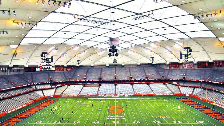 Syracuse Lacrosse Carrier Dome