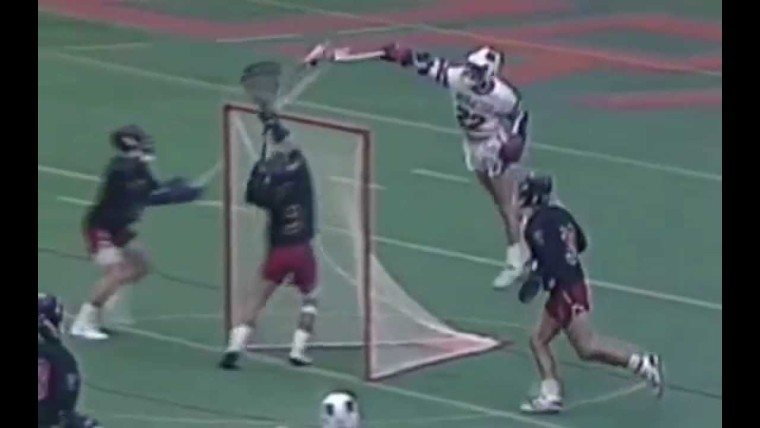 Gary Gait jumping over the goal changed lacrosse forever