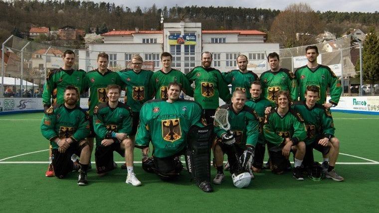 Germany box lacrosse European Indoor Lacrosse Championship