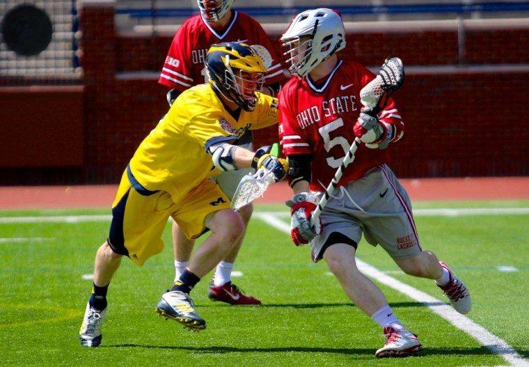 Ohio State vs Michigan 2015 BIg Ten Lacrosse Photo Credit: Molly Tavoletti