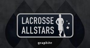 LaxAllStars Must Dye - Graphite Lacrosse Head