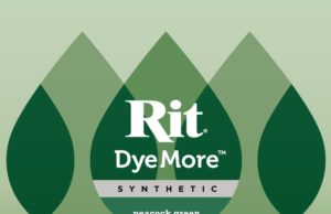 Rit DyeMore - Peacock Green