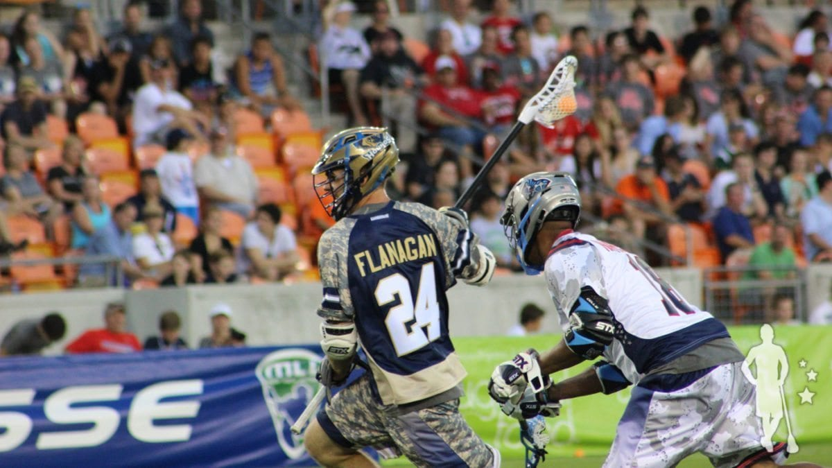 Ryan Flanagan MLL All-Star Game 2015