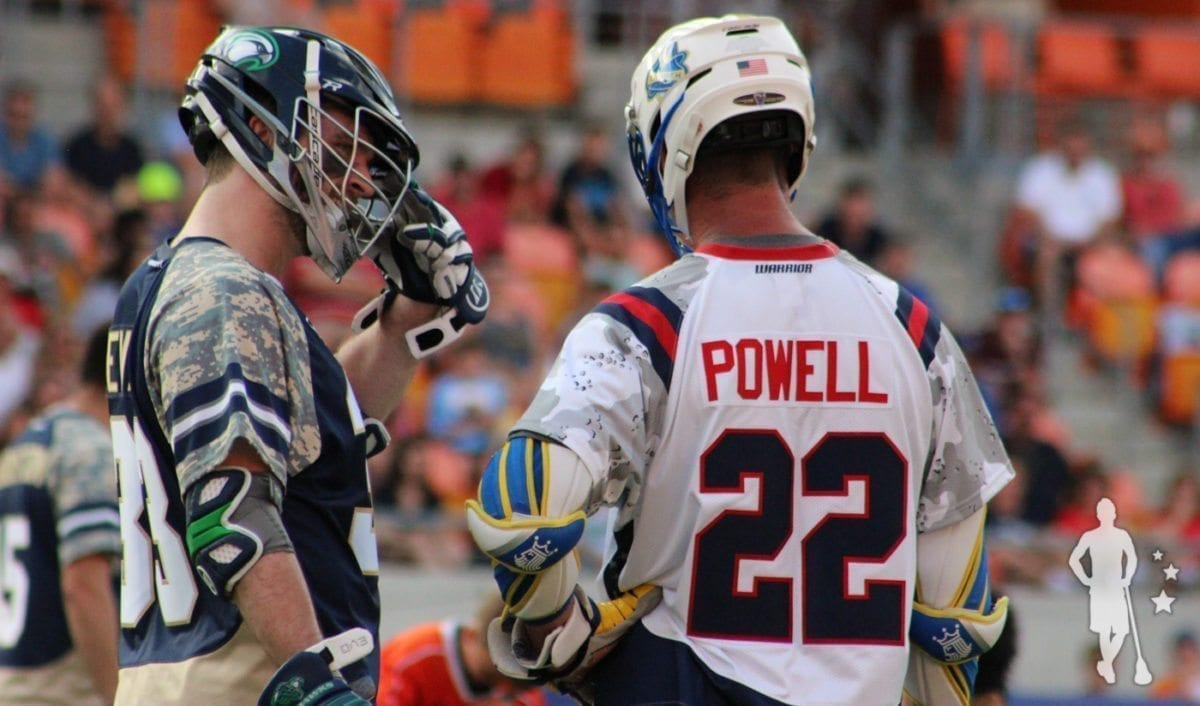 Casey Powell MLL All-Star Game 2015