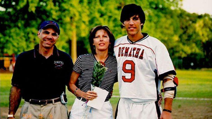 Paul Rabil with Parents High School DeMatha