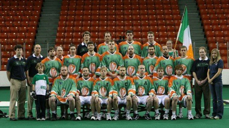 2007 Irish Indoor National Lacrosse Team