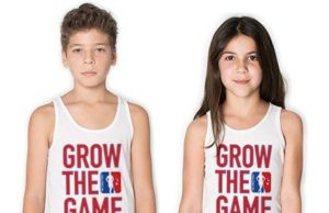 Original Grow The Game Youth Tank Tops