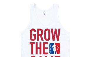 Grow The Game men's tank