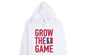 womens grow the game hoodie