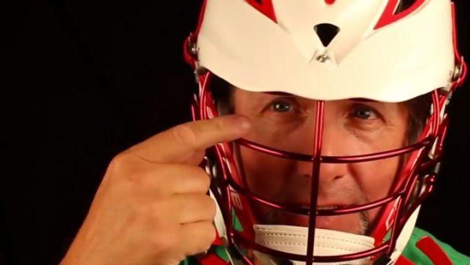 Should You Dye a Lacrosse Helmet? Red Star